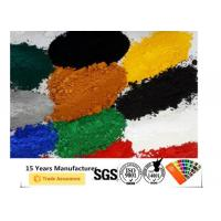 Best Ral Color Epoxy Polyester Powder Coating Excellent Electrification / Gloss wholesale