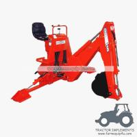 Best BH5600 - Light Model 3 Point Backhoe for small tractor 16-25hp wholesale