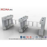 Best Automatic Pedestrian Swing Gate RFID Card Reader Infrared Sensor Security Turnstile wholesale