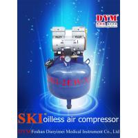 Cheap K0011 SKI dental one for two silence oil-free air compressor (32L) CE for sale