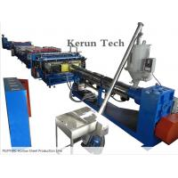 Best PVC Sheet Extrusion Line / PE/PP/PC Hollow Sheet Production Line wholesale