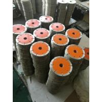 Best 105mm Ceramic Tile Saw Blades , Marble Cutting Disc 1.8mm Segment Thickness wholesale