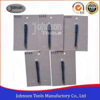 Best 8mm Silver Welded Diamond Core Drill Bits With 3 / 8 Inch Shaft wholesale