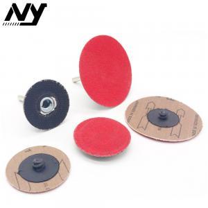 Best Metal Roloc Polishing Discs , Quick Change Sanding Discs 2 Inch 3 Inch High Speed wholesale