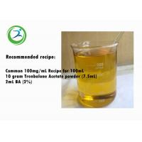 China High Purity Trenbolone Ace Powder Semi finished Anabolic Steroid Trenbolone Acetate Oil For Muacle Gain on sale