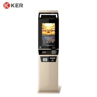 Best Identity Authentication Touch 19 Inch Hotel Self Check In Machine wholesale