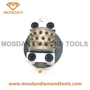 Best 3'' Round Bush Hammer Tools with 1 Plug for STI Stonekor wholesale