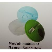 Best FBAB0051 for wholesales food-grade PP material salad bowl with fork wholesale