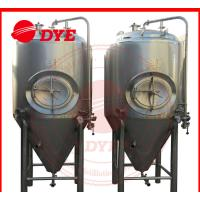 Best Industrial Conical Stainless Steel Fermenter Tank 2MM - 5MM Thickness wholesale