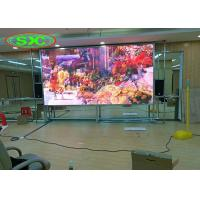 Cheap Lightweight HD P2 Indoor Full Colour LED Display SMD 3 In 1 With Magnet Module for sale