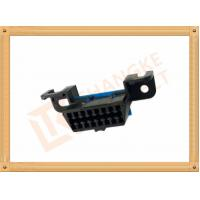 Best Automotive 16 Pin Obd Female Connector / Obd2 16 Pin Connector SOF009 wholesale