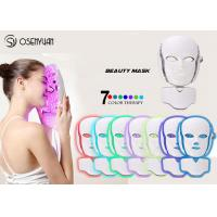 Cheap PDT LED Light Therapy Face Mask , Led Photon Therapy Mask CE ROHS Approved for sale
