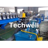 Best High Efficient Storage Shelf Rack Roll Forming Machine With Material Thickness 2.0-2.5mm wholesale