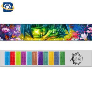 Best Fantastic 3D Lenticular Printing Ruler 0.9mm PET+157g Paper Material wholesale