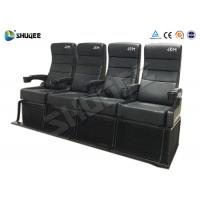 Best Safety 4D Movie Theater With Pure Hand - Wrapped PU Leather Motion Seats wholesale