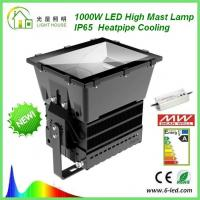 Best 1000W Floodlight To Replace 2000W HPS LED High Mast Lamp Cree XTE Super Brightness wholesale