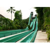 Best Multicolor High Speed Water Slide , Fiberglass Big Water Slides For Adults wholesale