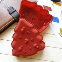 Best 2014 Christmas trees Silicone cake baking Mold wholesale