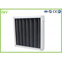 Buy cheap Active Carbon Replacement Air Filter 800 - 3200 M³/H Rated Air Flow Panel Odor Remover from wholesalers