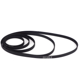 Best Black Width 6mm Pitch 2 mm 3D Printer Timing Belts GT2 Closed Loop wholesale