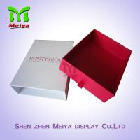 Best Innovative Customized Drawer Type Gift Packaging Boxes With Ribbon Handle wholesale
