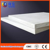 Best Refractory Ceramic fiber board for industrial kiln / furnace , White Color wholesale
