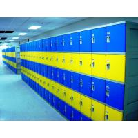 Best Colorful Employee Storage Lockers 4 Tier smart ABS Lockers for school or gym wholesale