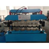 Best 7.5KW Corrugated Sheet Making Machine , Metal Roll Forming Machines With Guide Pillar wholesale