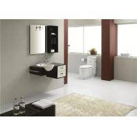 Small Painting Bathroom Vanity And Cabinets With Sink And Tops , Waterproof Bathroom Vanity Units
