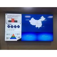 Buy cheap Indoor 1.8mm Supper Slim Bezel 55inch LED Screen Video Wall Solution for Indoor from wholesalers