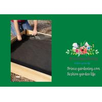 "Black Raised Garden Bed Plastic Liner 3"" Liners Are 10"" High"