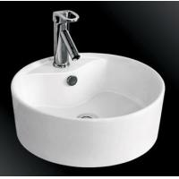 Best bathroom vanity ceramic basin with single faucet hole decorative art wash basin wholesale