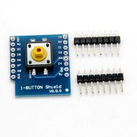 Cheap 1 Button Shield Board SMT PCB Assembly For WeMos D1 Mini Switch PCBA Board for sale