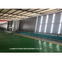 Best Hydraulic Insulating Glass Line 300*500 Millimeter Min Size With Speed Change Device wholesale