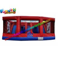 Best Funny Red EN71 Inflatable  Sports Games , Inflatable Twister Game for Rental wholesale