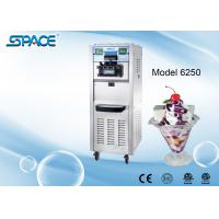 Cheap 3 Compressors Commercial Soft Serve Frozen Yogurt Machine Two Control Systems for sale