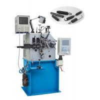 Universal Coil Spring Machine , Extension Spring Machine Automatic Oiling