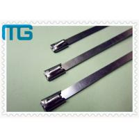 Best Nature Color Cable Accessories Self Locking Stainless Steel Cable Ties Free Samples wholesale