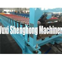 Electric Controlling Roof  Roll Forming Machine with Voltage 460V 3ph 60Hz