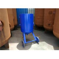 Cheap 200 Liters Abrasive Sand Grit Blasting Equipment For Pressure Release System for sale