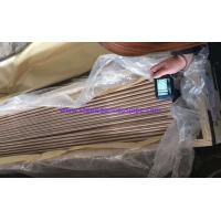 China Straight Copper Tube ASTM B111 O61 C70600 C71500 Used for Boiler, Heat Exchanger, Air condenser 19.05*2.11*6096mm on sale