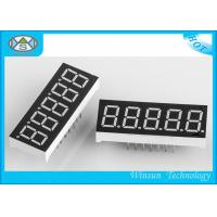 Cheap 7 Segment Led Display Five Digit  0.39 Inch Height With White Blue Yellow Green Red Color for sale