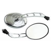 Buy cheap Silver Plating Motorcycle Rearview Mirror Abrasion Resistance With Long Service from wholesalers