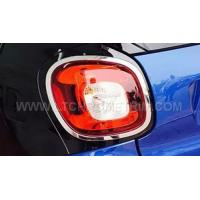 Cheap Mercedes Benz Smart 2015 ABS Chrome Tail Light Cover / Tail Lamp Trim for sale