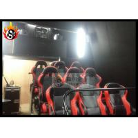 Best Special 6D Local Movie Theaters with Hydraulic Motion Chair and Projector wholesale