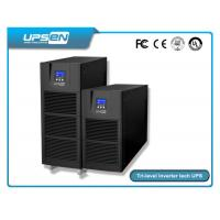 Quality Smart Pure Sine Wave Single Phase Online UPS For Computer Center , Data Center wholesale