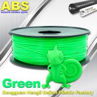 Cheap UP 3d printer ABS Filament  1.75 / 3.0 mm ABS 3d filament 43 color for sale