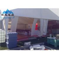 Best 300 Seater Canopy Shade Tent Durable Frame With Wooden Flooring System wholesale