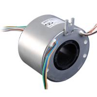 Best hallow shaft Slip Ring with hole 50mm ,2-30A 380V, precious metal material for medical wholesale