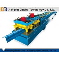 China 0.8 - 1.2mm Aluminium Steel Ridge Cap Roll Forming Machine With 10 - 15 m/min Working Speed on sale